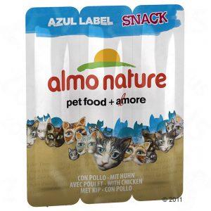 Almo Nature Azul Label Snack - Kyckling, 3 x 5 g