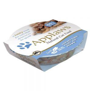 Applaws Cat Pot kattmat 10 x 60 g - Exklusiv tonfisk & räkor