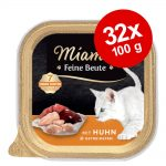 Ekonomipack: Miamor Feine Beute portionsform 32 x 100 g - Lax