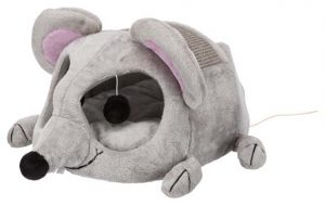 Kattleksak / igloo ljusgrå mus