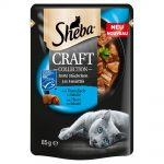 Sheba Craft Collection 12 x 85 g - Fish Selection in Sauce