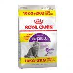 10 kg + 2 kg på köpet! 12 kg Royal Canin Feline - Outdoor 30