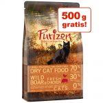 2 kg + 500 g på köpet! 2,5 kg Purizon torrfoder Adult Duck & Fish