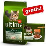 7,5 kg Ultima Cat torrfoder + 4 x 85 g våtfoder på köpet! Urinary Tract 7,5 kg + Urinary våtfoder