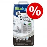 8 l + 2 l eller 6,4 l + 1,6 l på köpet! Biokat's Diamond Care - MultiCat Fresh 8 l