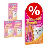 Ekonomipack: 24 st Vitakraft Cat Liquid-Snack á 15 g - Nötkött & inulin (24 x 15 g)