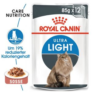 Royal Canin Ultra Light i sås 48 x 85 g
