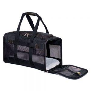 Sherpa® Original Deluxe Pet Carrier - Storlek M: ca L 43 x B 28 x H 27 cm ? upp till 7,2 kg