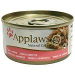 Applaws Tuna Fillet&Prawn Konserv 24 x 154 g