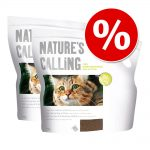Ekonomipack: Applaws Nature's Calling kattströ - Ekonomipack: 2 x 6 kg