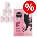 Prova-på-pris: 6 x 100 g Cosma Original och Cosma Thai/Asia - Thai/Asia Kyckling & tonfisk