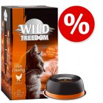 Sparpris! Wild Freedom Adult portionsform 6 x 85 g - Green Lands - Lamm & Huhn
