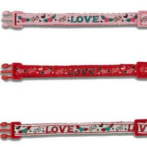 katthalsband Love, Rosa