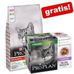 10 kg PRO PLAN kattfoder + 10 x 85 g Nutrisavour Sterilised på köpet! - Delicate Adult Turkey