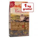 5,5 kg + 1 kg på köpet! 6,5 kg Purizon spannmålsfritt torrfoder för katt - Large Adult Chicken & Fish