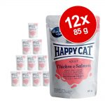 Happy Cat Pouch Meat in Sauce 12 x 85 g - Kyckling & kalkon