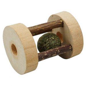Pritax kattleksak roller silvervine/kattmynta