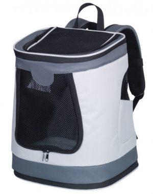 Ryggsäck Plata för katt och hund (grå)