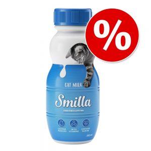 Sparerbjudande! Smilla Cat Milk 12 x 250 ml - 12 x 250 ml