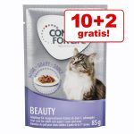 10 + 2 på köpet! 12 x 85 g Concept for Life våtfoder för katt - Sterilised Cats - i gelé