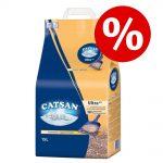 10 % rabatt på Catsan! Natural 20 l
