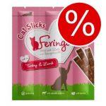 40% rabatt på Feringa Sticks 36 x 6 g! - Kalkon & lamm