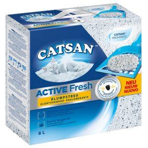 Catsan Active Fresh klumpbildande kattströ - 8 l