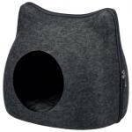 Cuddly Cave igloo kattbädd ljusgrå