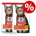 Kanonpris! 2 stora påsar Hill's Science Plan kattfoder! Young Adult Sterilised Tuna 2 x 10 kg