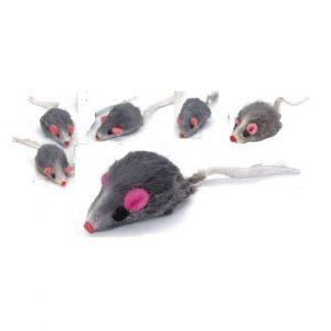 Kattleksaker 6 små möss