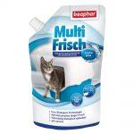 beaphar Multi Fresh för kattoaletter Ekonomipack: Vanillj & melon 2 x 400 g