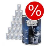 Extra lågt sparpris! Wild Freedom 24 x 200 / 400 g - NYHET Kitten Wide Country - Veal & Chicken 24 x 200 g