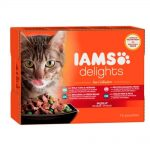 Iams Delights in jelly Multipack Sea (12 x 85 g)