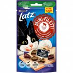 Latz Mini-Filetti Kyckling & bitar av Ox (40 gram)