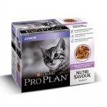 Pro Plan Junior Cat Turkey Multipack Wet (10 x 85 g)