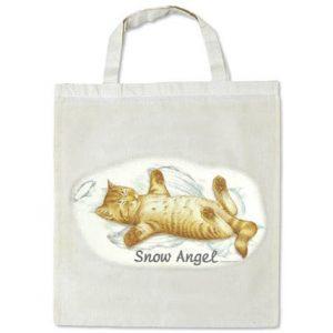 Tygväska Snow Angel