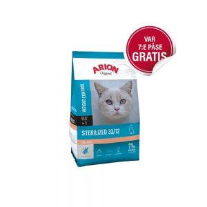 Arion Original Cat Sterilized Salmon (7,5 kg)