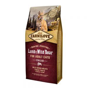 Carnilove Cat Lamb & Wild Boar (6 kg)