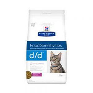 Hill's Prescription Diet Feline D/D Duck & Green Pea