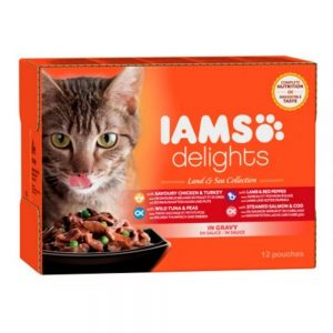 Iams Delights in gravy Multipack Land & Sea