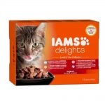 Iams Delights in jelly Multipack Land & Sea