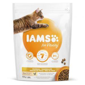 Iams for Vitality Cat Adult Hairball (10 kg)