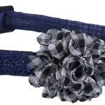 Katthalsband Blue scrunch