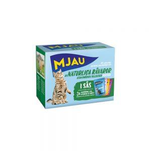 Mjau Multipack Kött- och Fisksmaker i Sås