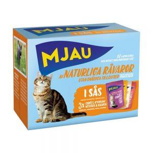 Mjau Multipack Köttsmaker i Sås