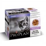 Pro Plan Junior Cat Turkey Multipack Wet (10x85g)