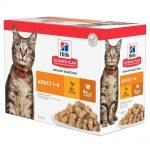Science Plan Adult Våtfoder Multipack Kyckling & Kalkon för Katt (12x85g)