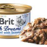 Brit Fish Dreams Mackerel & Seaweed 80g