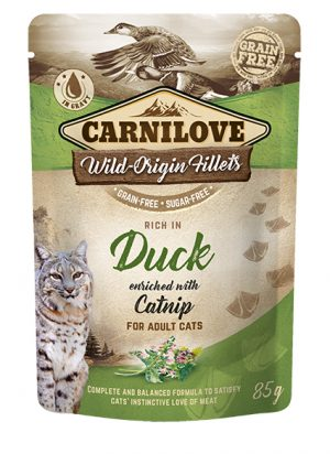 Carnilove Portionspåse Duck with Catnip