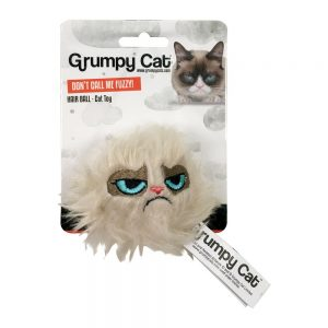 Grumpy Cat Hair Ball